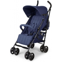 Childhome Buggy Multi Positie Canvas Blauw