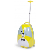 Childhome trolley 17 ltr wasbeer 27x39x15 lemon