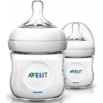 Philips Avent Natural SCF690/27 - 2x Babyfles (125 ml) m