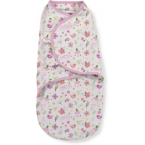 SwaddleMe inbakerdoek 0-3 mnd - Flowers & Butterflies