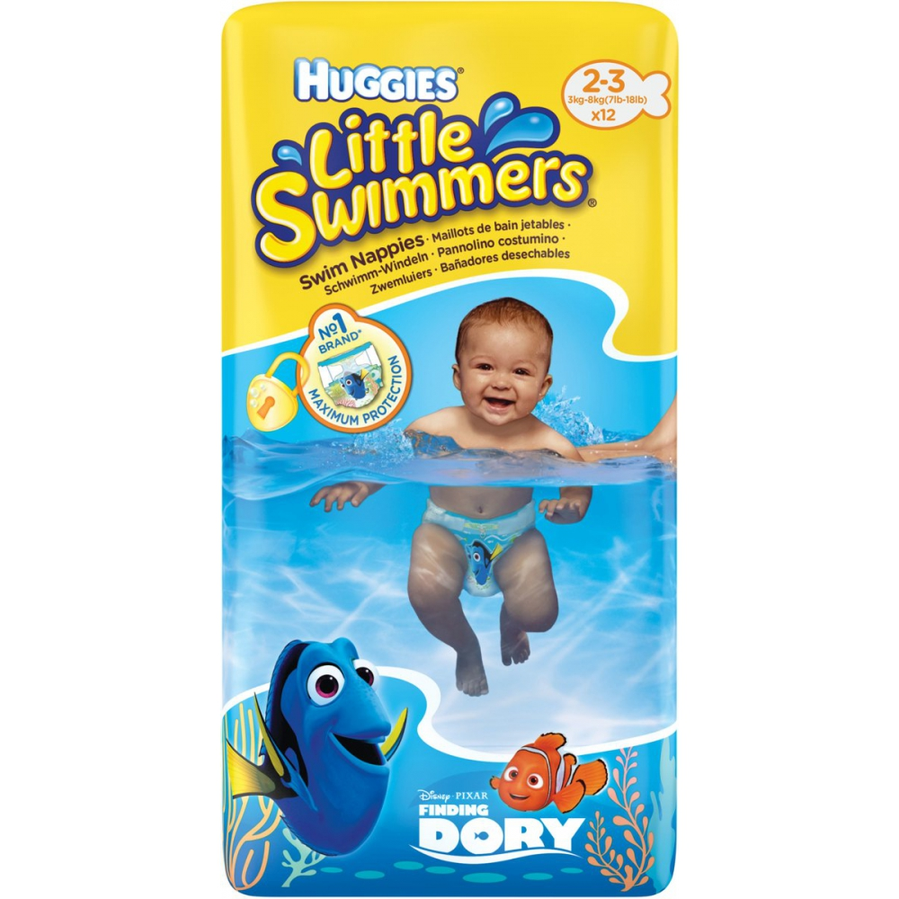 Huggies - Little swimmers maat2/3 12 stuks
