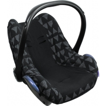 Dooky Seat Cover Groep 0+ - Black Tribal
