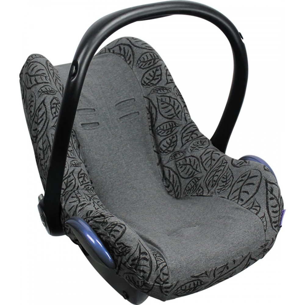 Dooky Seat Cover 0+ - Grey Leaves