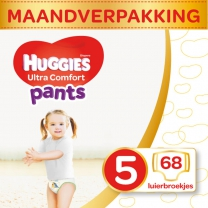 Huggies Ultra Comfort Pants Luierbroekjes Mt 5 - 12-17 k