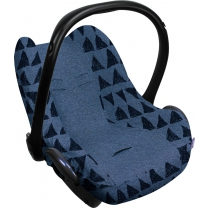 Dooky Seat Cover 0+ - Blue Tribal