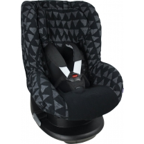 Dooky Seat Cover Groep 1 - Black Tribal