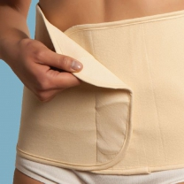 Carriwell Belly Binder - Sluitlaken - Naturel - Maat S/M