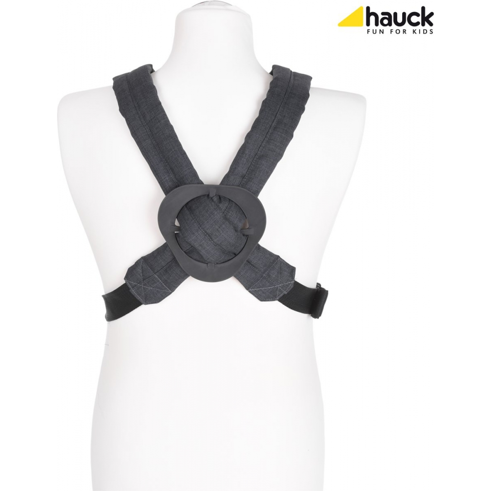 Hauck 2-Way Carrier - Draagzak - Melange Charcoal