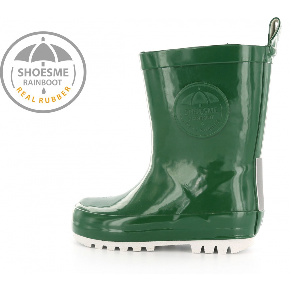Shoesme Jongens Rubber laarzen - Dark Green - Maat 24