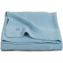 Jollein Basic knit Deken 100x150cm ice blue
