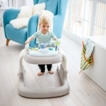Hauck 2 in 1 Walker Friend Loopstoel - Beige/Grey