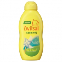 Zwitsal Bad- & Wasgel Ademvrij 200 ml