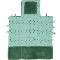 Snoozebaby Verschoonkleed- Forest Green - 50x70cm