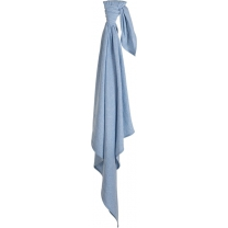Little Dutch swaddle doek 120 cm blue melange