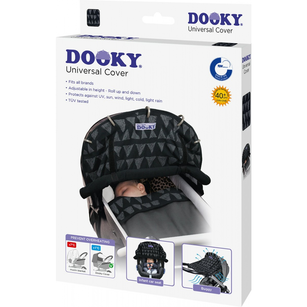 Dooky Universal Cover - Black Tribal
