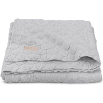Jollein Fancy knit Deken 100x150cm soft grey