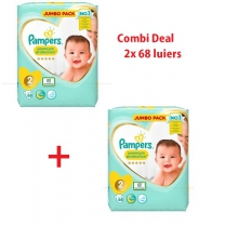 Pampers Premium Protection - Maat 2, 4-8 kg - Combideal
