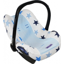 Dooky Seat Cover 0+ - Blue / Blue Stars