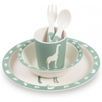 Jollein Safari Dinerset forest green