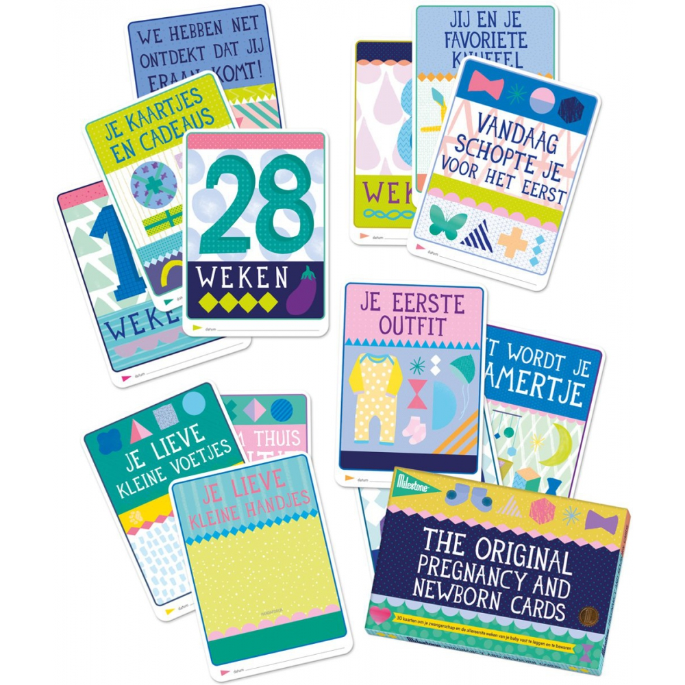 Milestone™ Pregnancy and Newborn Photo cards