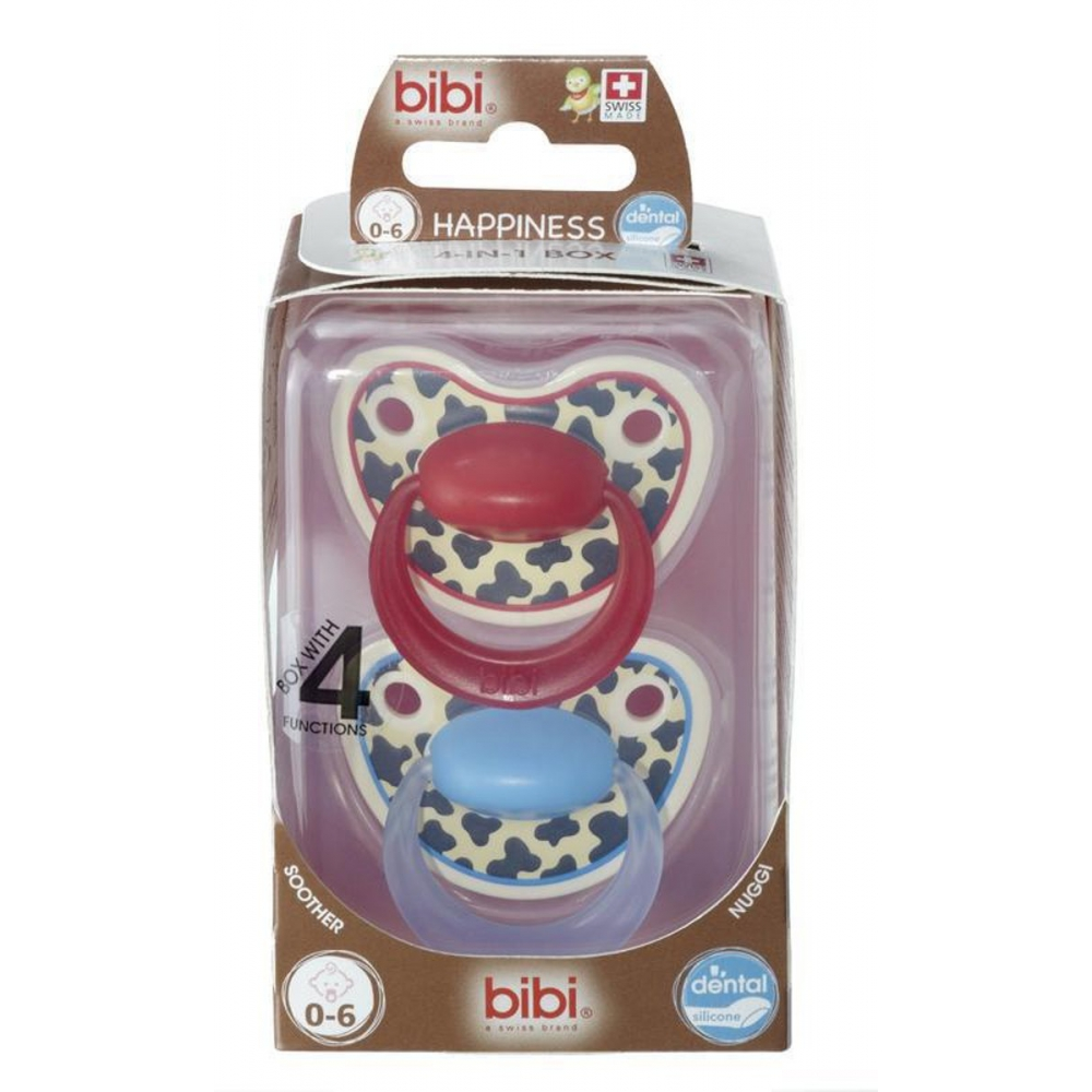Bibi Happiness Sweet Tiger Swiss Speen 2 Pack