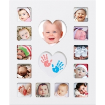 Happy Hands - Baby Inkless First Year Frame Kit