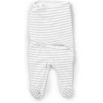 SwaddleMe Footsie grijs Stripe small