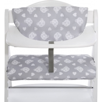 Hauck Highchairpad Deluxe Kinderstoel - Teddy Grey