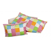 Lief! Lifestyle Dekbedovertrek 100x140 patchwork girls