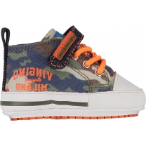 Vingino Babyschoenen - Army all-over - Maat 18