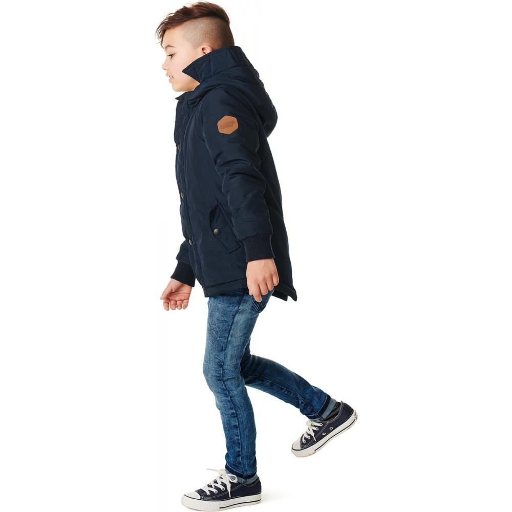 NOP Jongens Jas Verle Royal Blue Maat 128 Babyoutlet