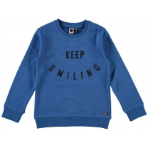 Tumble 'n Dry Sweater Oswald snorkel blue - Maat 116