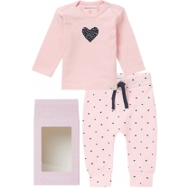 Noppies Kledingset basic - Light Rose - Maat 62