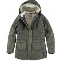 Cars jeans Meisjes Jas - Army - Maat 140