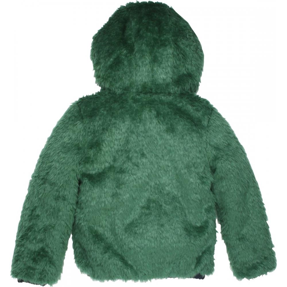 Moodstreet Meisjes Winterjas Green Maat 116 Babyoutlet