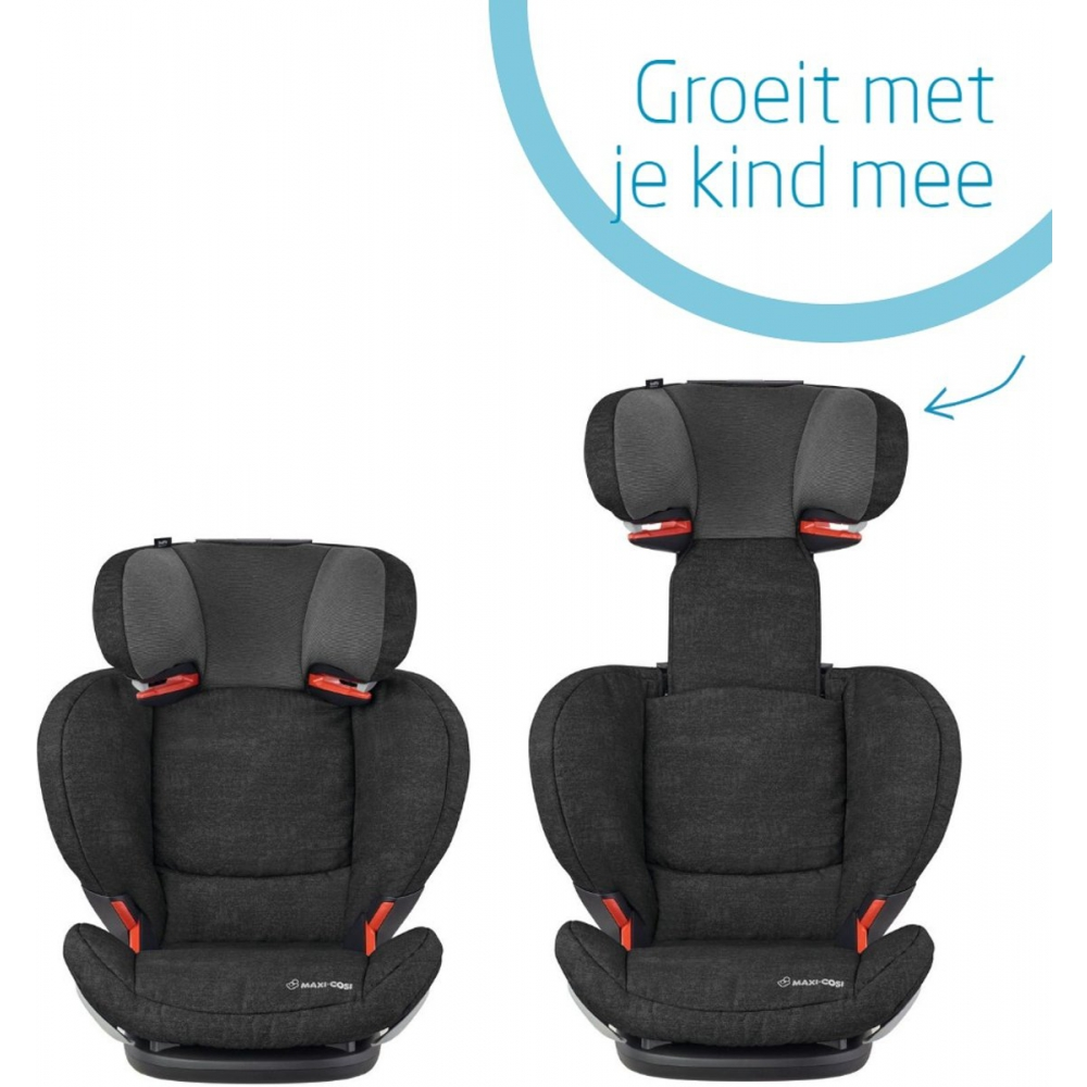 Maxi Cosi outlet Rodifix Air Protect Autostoel Nomad Black Babyoutlet