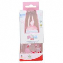 Nuk First Choice+Voedingsfles 0-6 mnd Roze 150 ml