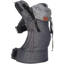 Bykay Draagzak Click Carrier Deluxe Jeansblauw