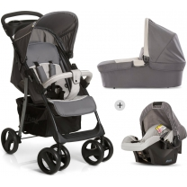 Hauck Shopper SLX Trio set - Kinderwagen - Stone/Grey