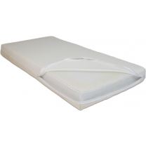 Duvatex Kindermatras safe awake 120x60x12cm - Wit