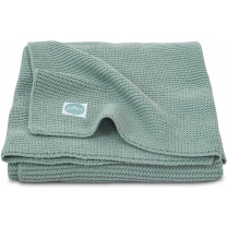 Jollein Basic knit Deken - 75x100cm Forest Green