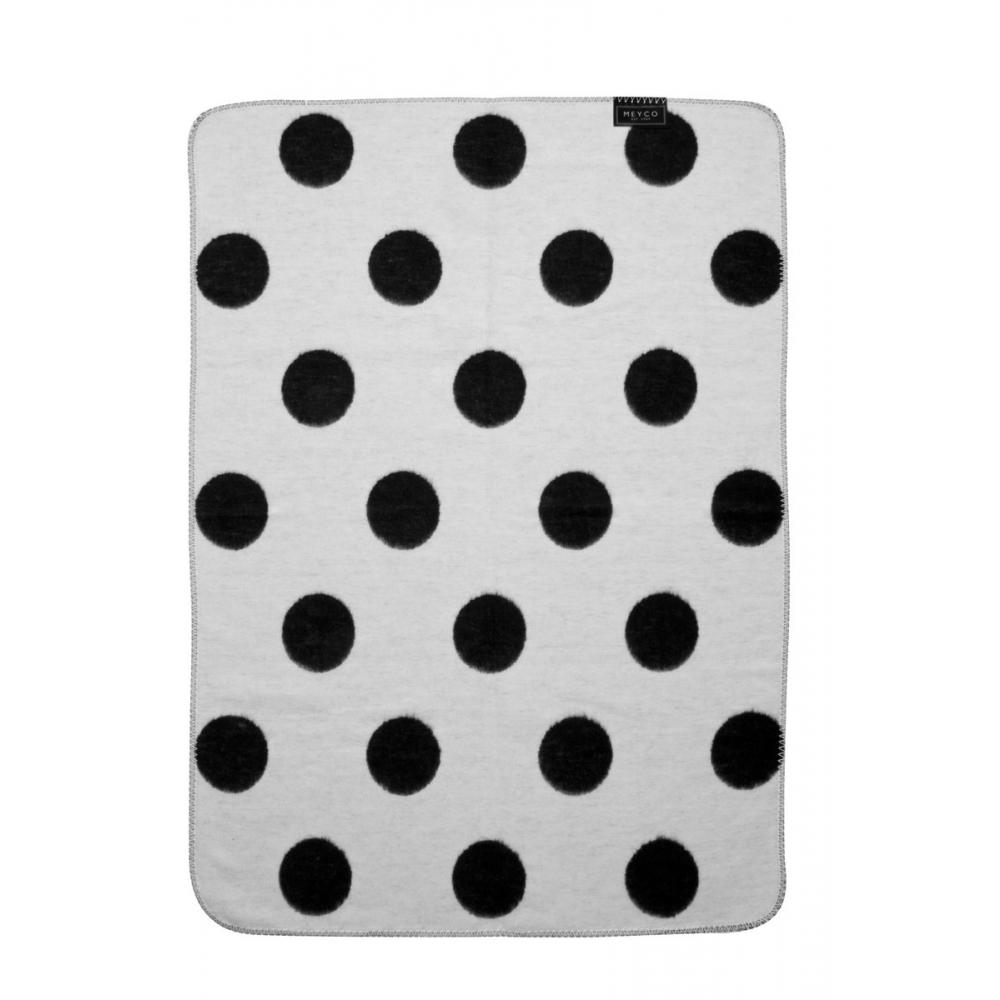 6b143a1147343c Meyco Black Label Organic Big Dot -120x150 cm - Babyoutlet