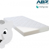ABZ matras witte panter - 70/140/11 cm roll packed