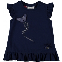 Le Chic T-shirt - imperial blue - Maat 92
