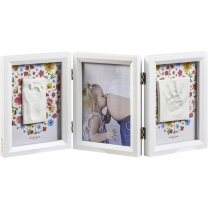 Baby Art My Baby Touch Double Print Frame Carolyn Style