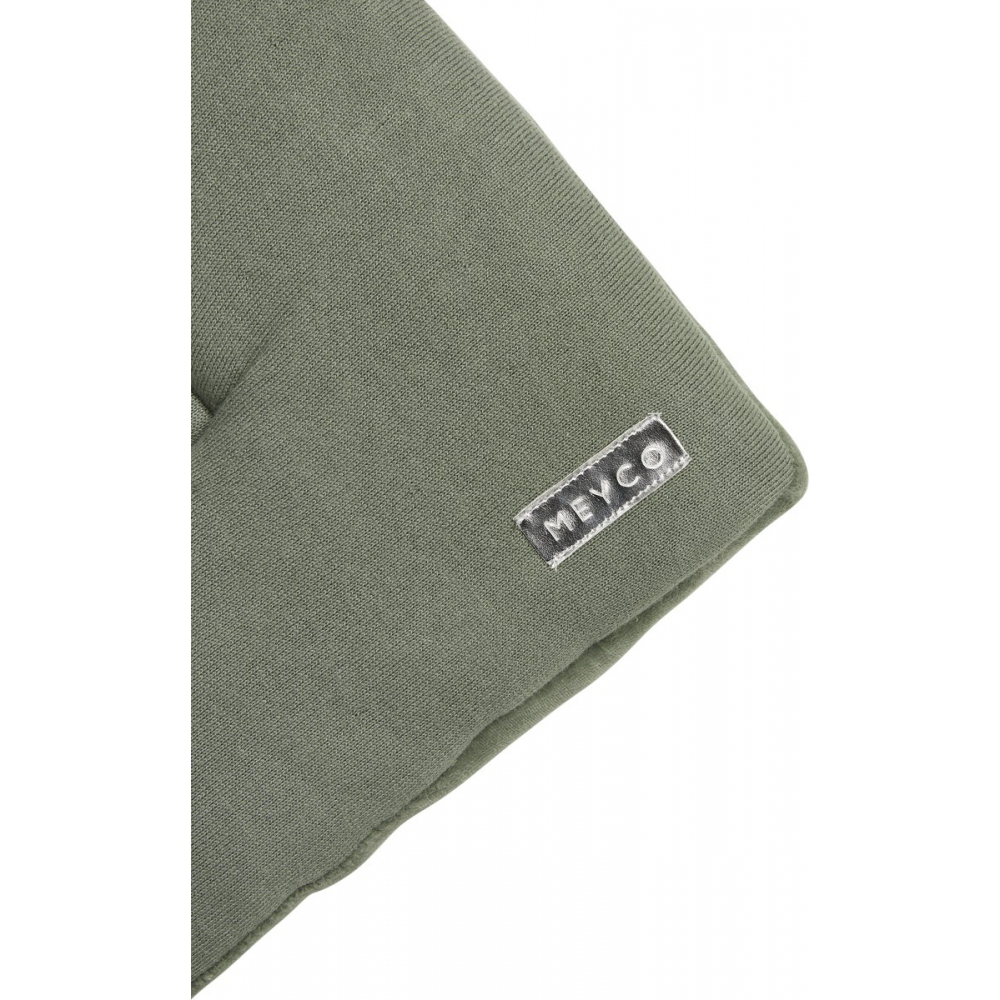 Meyco boxkleed Knit basic - forest green
