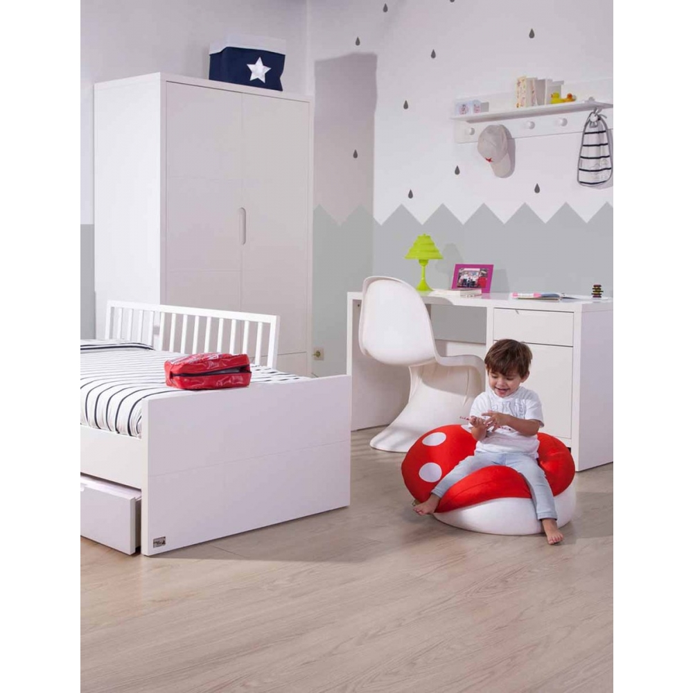 Childhome - Bedhek Beuk/Mdf 120 cm - Wit