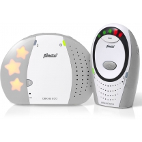 Alecto Baby DBX-85 Full Eco Dect Babyfoon - grijs