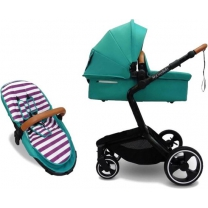 Mycosybaby combi kinderwagen 2-in-1 Navy