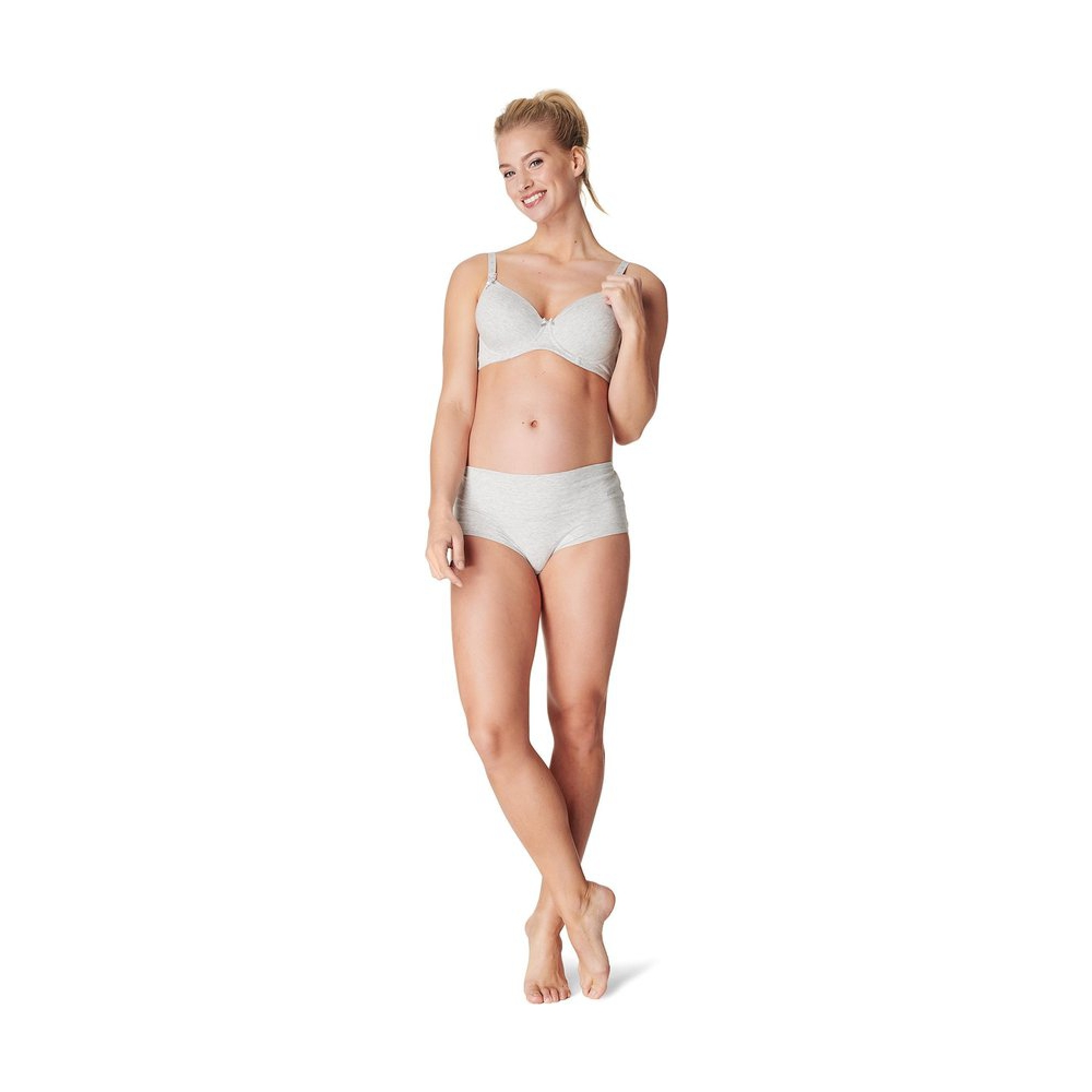 Noppies Voedingsbeha Cotton Comfort - Grey Melange